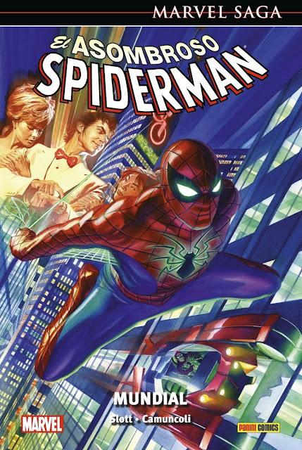 Reseña de Marvel Saga. El Asombroso Spiderman 51. Mundial de Dan Slott - Panini Comics
