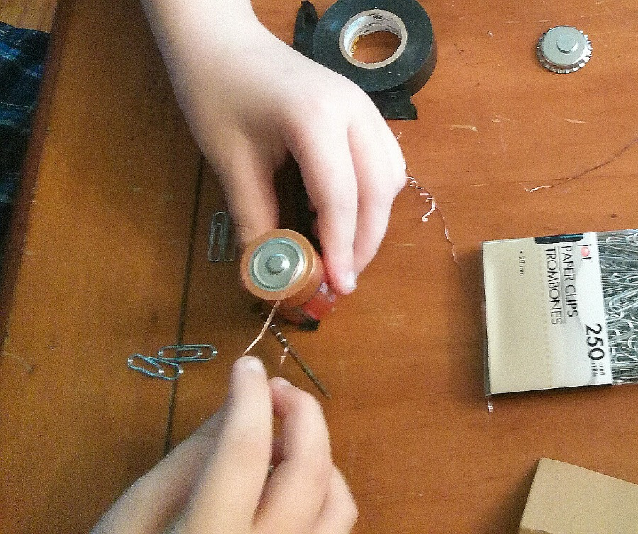 How to Make a Battery Magnet: Solenoid Science - Kids