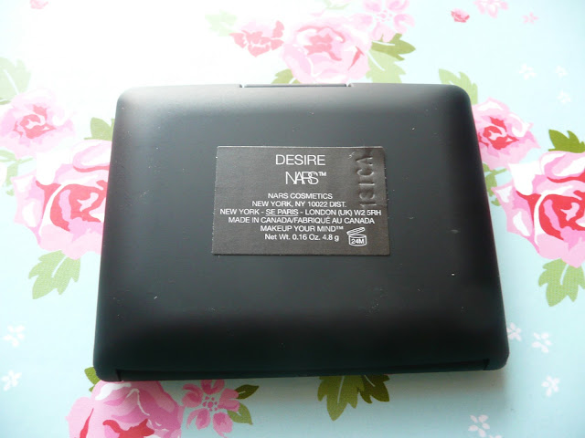 NARS Powder Blush in Desire Beauty High End Pink