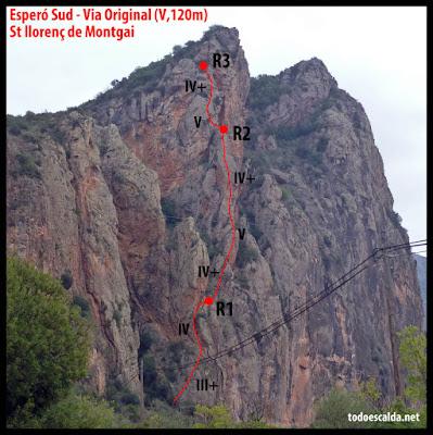 Sant Llorenç de Montgai, Espero Sud