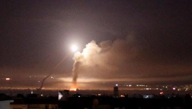 سوريا، الدفاع الجوي السوري،  منطقة دمشق، عدوان إسرائيلي،  الجولان،  حربوشة نيوز