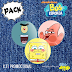Kit de bottons - Bob Esponja