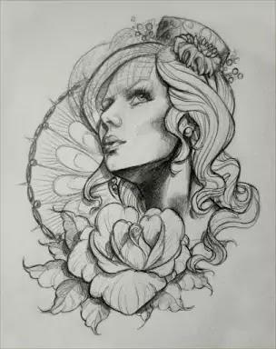 Female Tattoo design