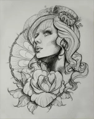 Female Tattoo design