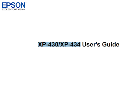 Epson Expression Home XP-430/XP-434 Manual