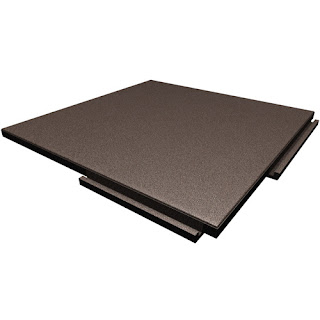 Greatmats rubber rooftop deck tiles