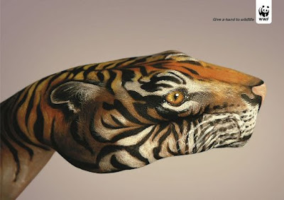 Body Painting in Advertising