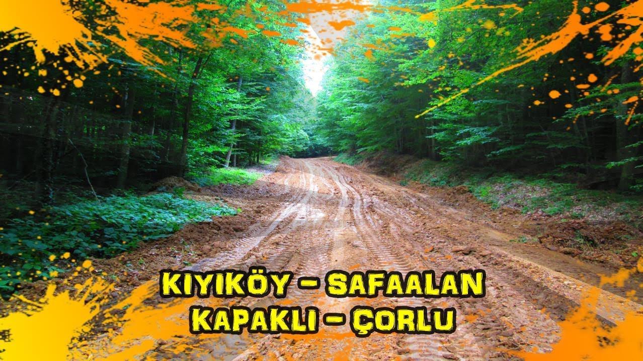 2019/08/05 Kıyıköy ~ Bahçeköy ~ Safaalan ~ Pınarca ~ Kapaklı ~ Velimeşe ~ Ergene