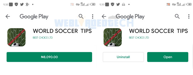 Download World Soccer Tips Apk With Password