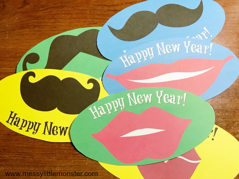 Printable New Years Eve with Kids activity