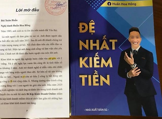 Huấn Hoa Hồng viết sách lậu, lỗi nhiều chính tả: Cục Xuất bản vào cuộc