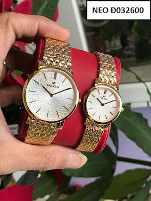 Đồng hồ cặp đôi NEOS Đ032600