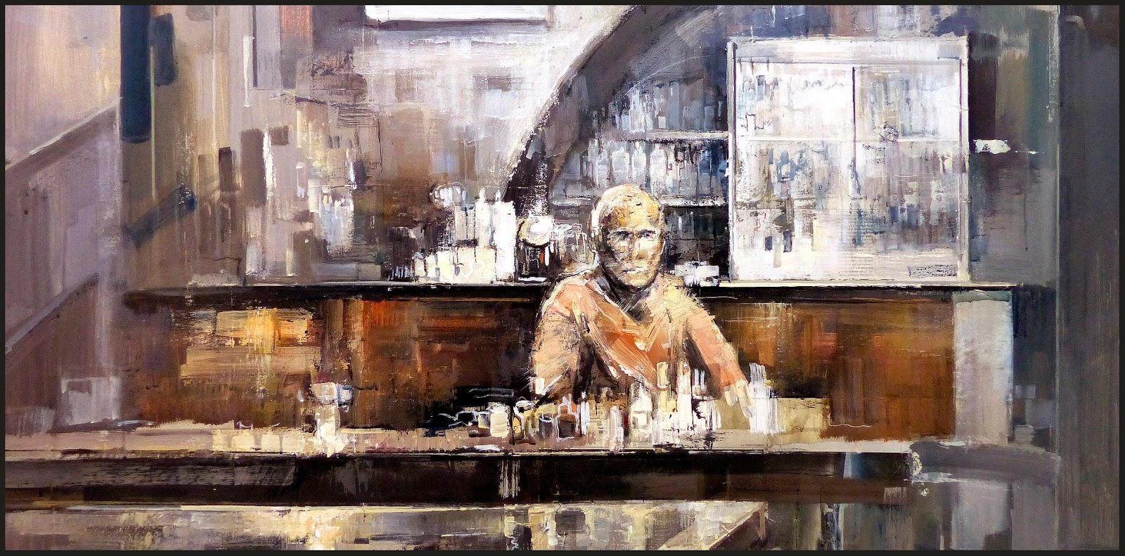 Ernest Descals Artista Pintor Cafeterias Pintura