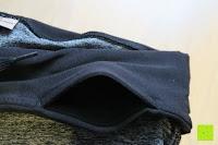 Tasche: Laufhose Damen capri mit Hüfttasche für Handy Leggings Fitness Sport tights schwarz muster yoga hose sporthose jogging farbig dreiviertel 3/4 lang von Formbelt