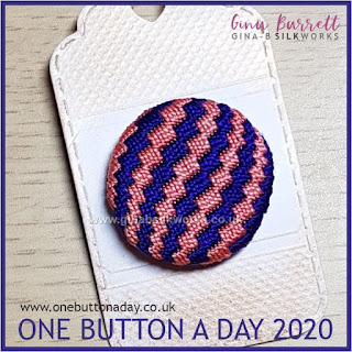 One Button a Day 2020 by Gina Barrett - Day 85: Nagare