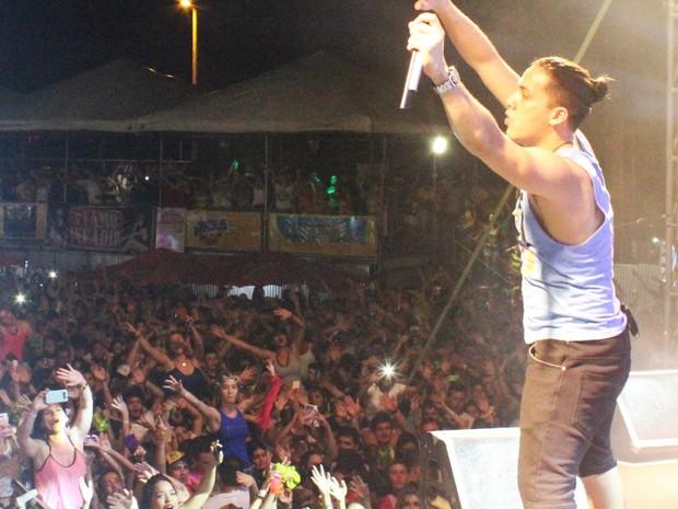 Em Show em Santarém Wesley Safadão menciona Itaitubenses e a cidade de Itaituba.