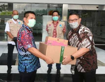 IPC Bersama BKPM  dan ALFI Kembali bagikan Ribuan Masker