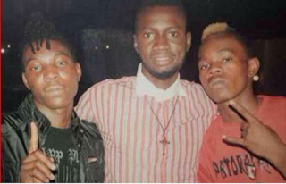 Throwback Photo of Solidstar and Patoranking