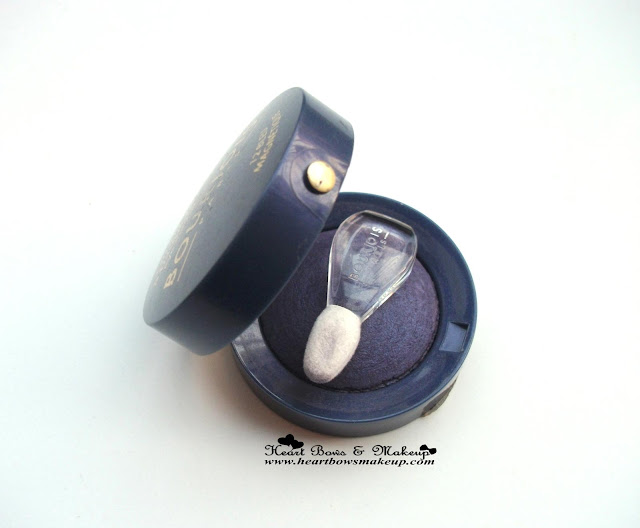 Bourjois Ombre à paupières Eye Shadow 12 Bleu Magnetique Review swatches price india buy online