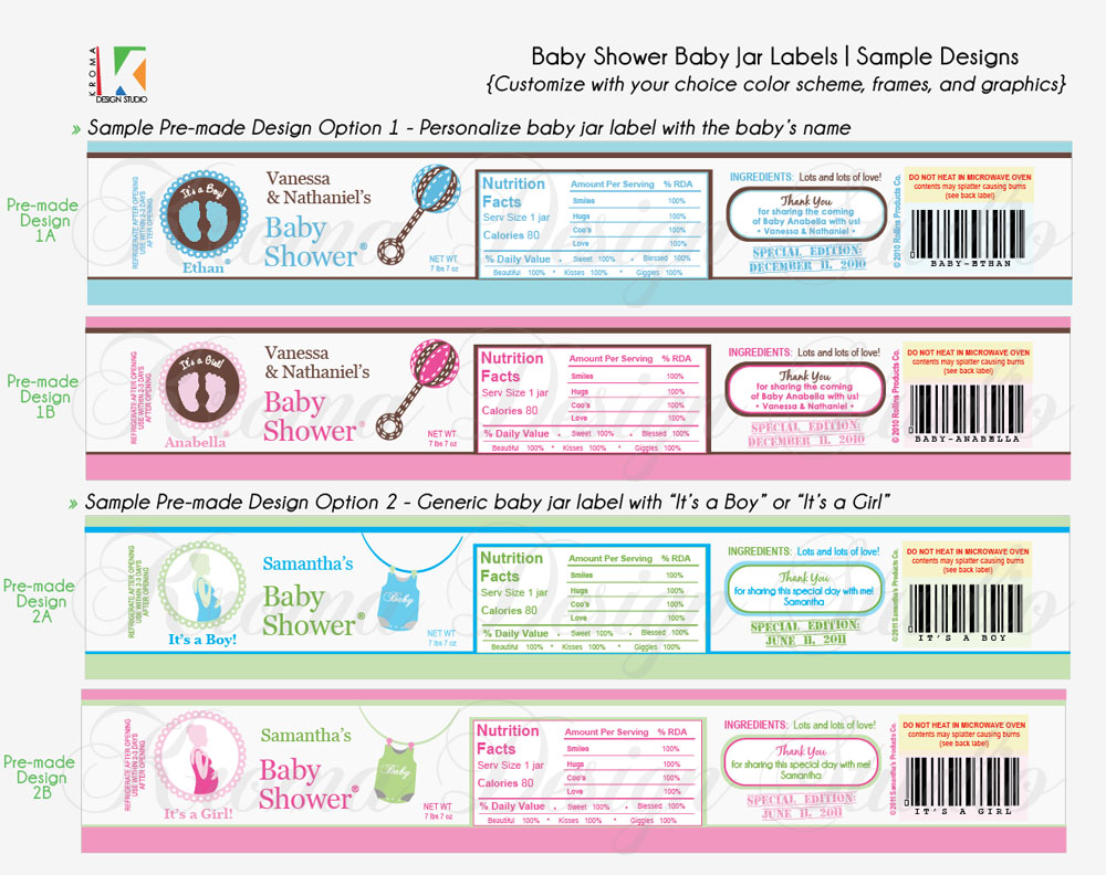 baby food jar label template baby showers diy printable baby jar label favors for