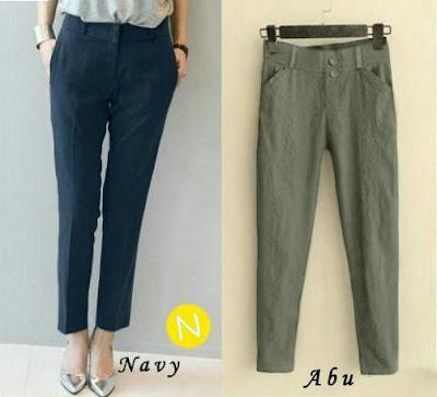 Jual Celana Panjang Basic Stretch Pants - 12449