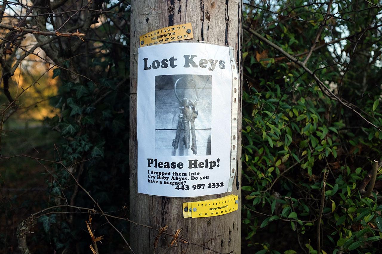 Lost Keys © Graeme Walker / The Pebble Museum 2019