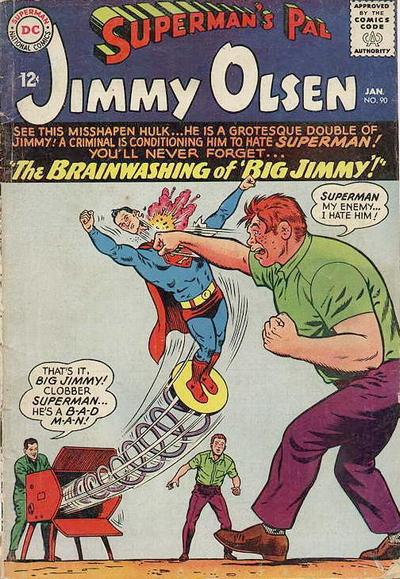 Episode #391 Part V: Superman Family Comic Book Cover Dated January 1966: Superman's Pal Jimmy Olsen!