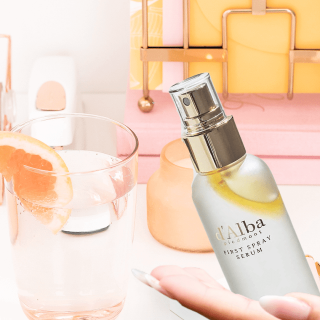 d'alba white truffle first spray serum review by barbies beauty bits