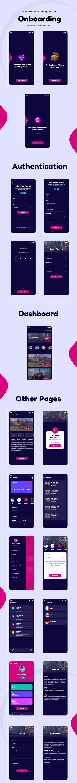 Online Gaming App UI Kit