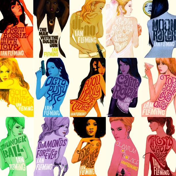 James Bond Girls prints by Michael Gillette