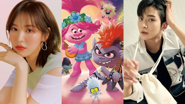 "Wendy Red Velvet dan Rowoon SF9 Akan Jadi Dubber Korea Film ""Trolls World Tour"""