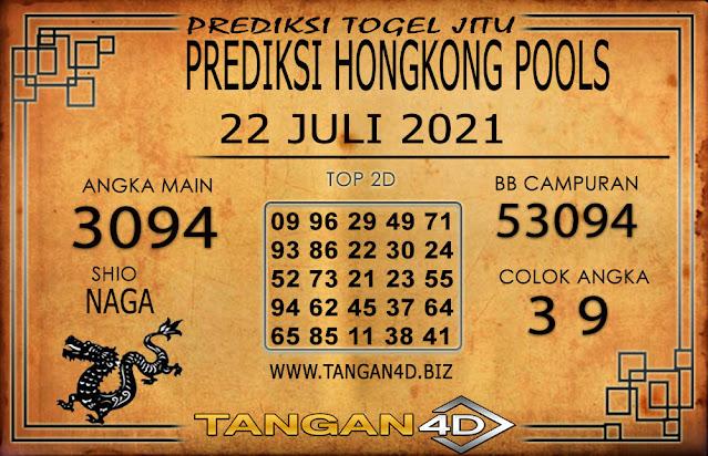 PREDIKSI TOGEL HONGKONG TANGAN4D 22 JULI 2021