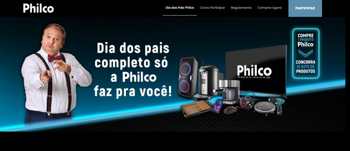 Promoção Dia dos Pais 2021 Philco - 10 Kits Produtos