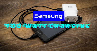 100-watt charging Samsung