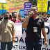 Ratusan Wartawan Indramayu  Gerudug Kantor KPU
