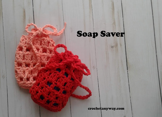 soap savers in peach and red