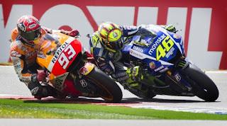 MotoGP Sepang Malaysia 2015 23 Oktober Rossi VS Marquez