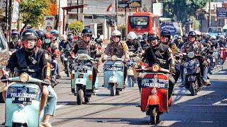 club motor jadul Polda Jateng