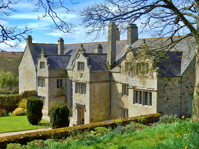 Trerice House, Cornwall from Elizabethan times.