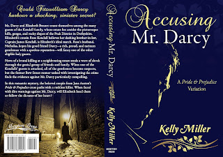 Full Wrap Book Cover - Accusing Mr Darcy by Kelly Miller