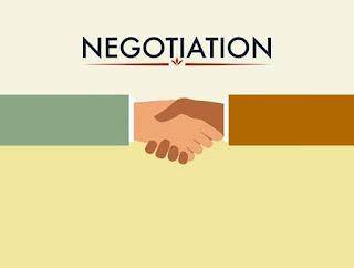 negosiasi akan memudahkan tercapai sesuatu kesepakatan