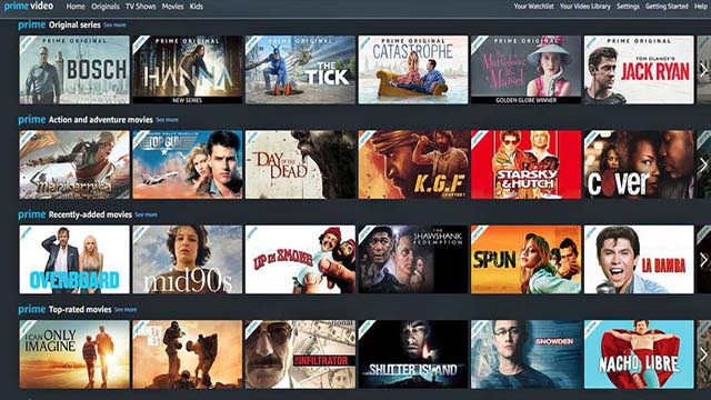 Amazon Prime Video - Aplikasi Streaming Film Dan Nonton Movie Terbaik Di Android