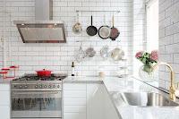 Modern Swedish apartment Scandinavian kitchen design