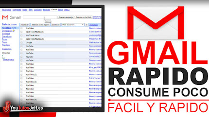 Usa la Versión mas Rápida de Gmail que consume menos Internet