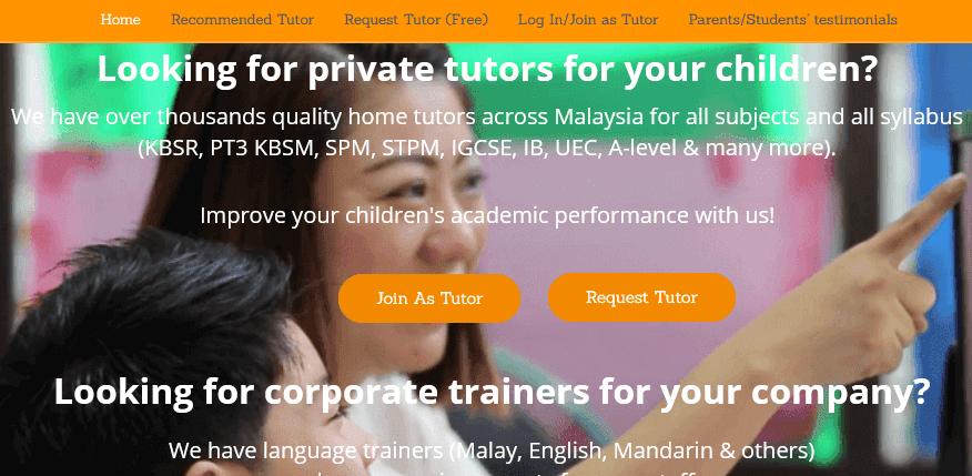 Private Tutor in Malaysia