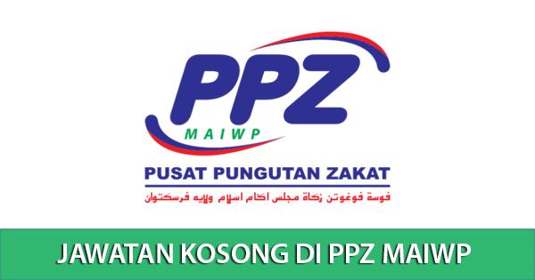 Jawatan Kosong di Pusat Pungutan Zakat PPZ