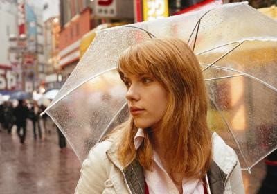 Scarlett Johansson's umbrella in LOST IN TRANSLATION