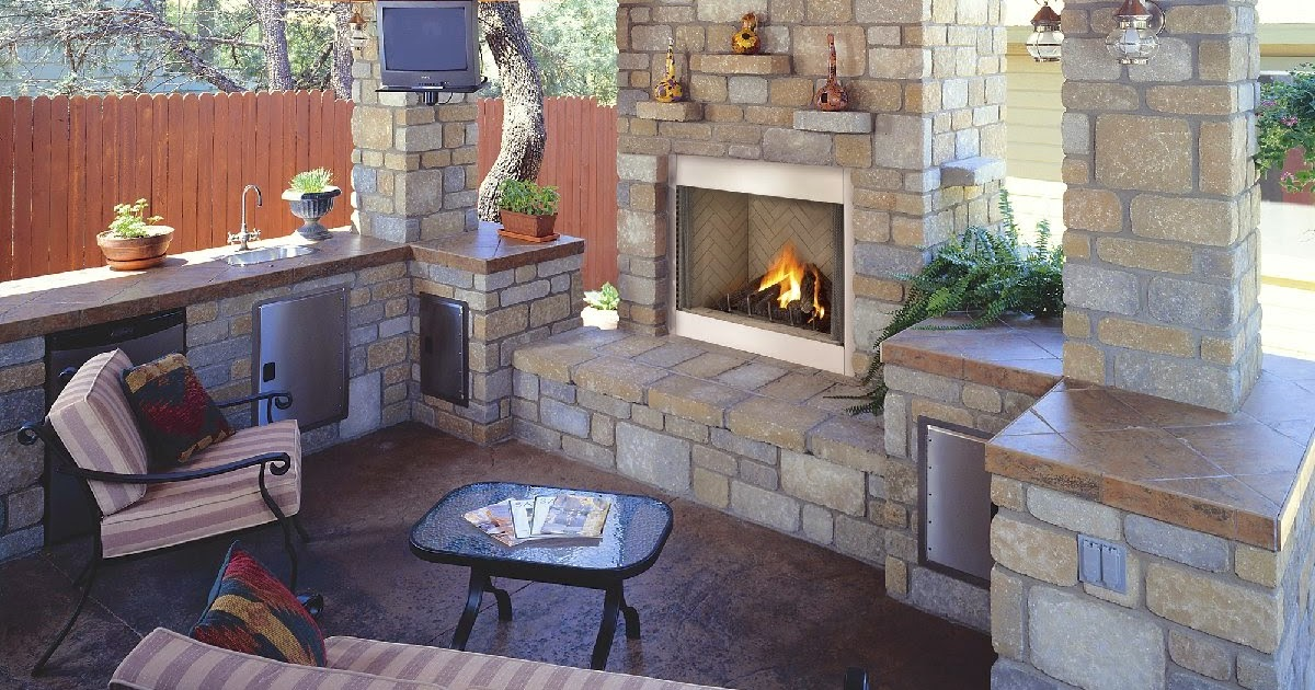 The Excellent Fabulous Contemporary Outdoor Fireplace