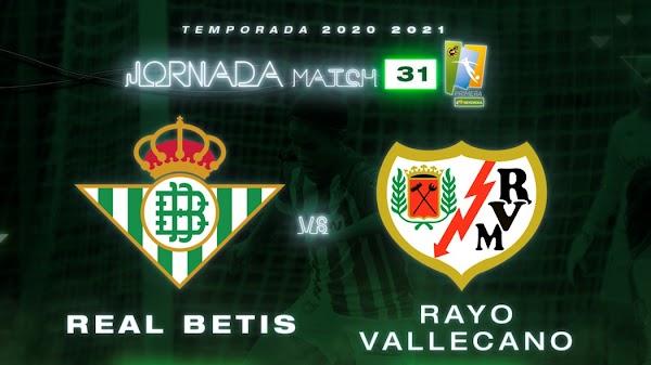 El Betis Féminas - Rayo Vallecano, el 22 de mayo a las 13:00 horas