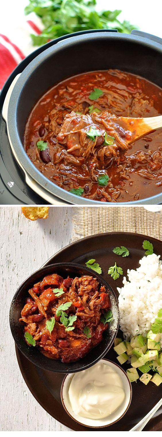 Shredded Beef Chili Con Carne